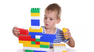 Boy with blocks 3